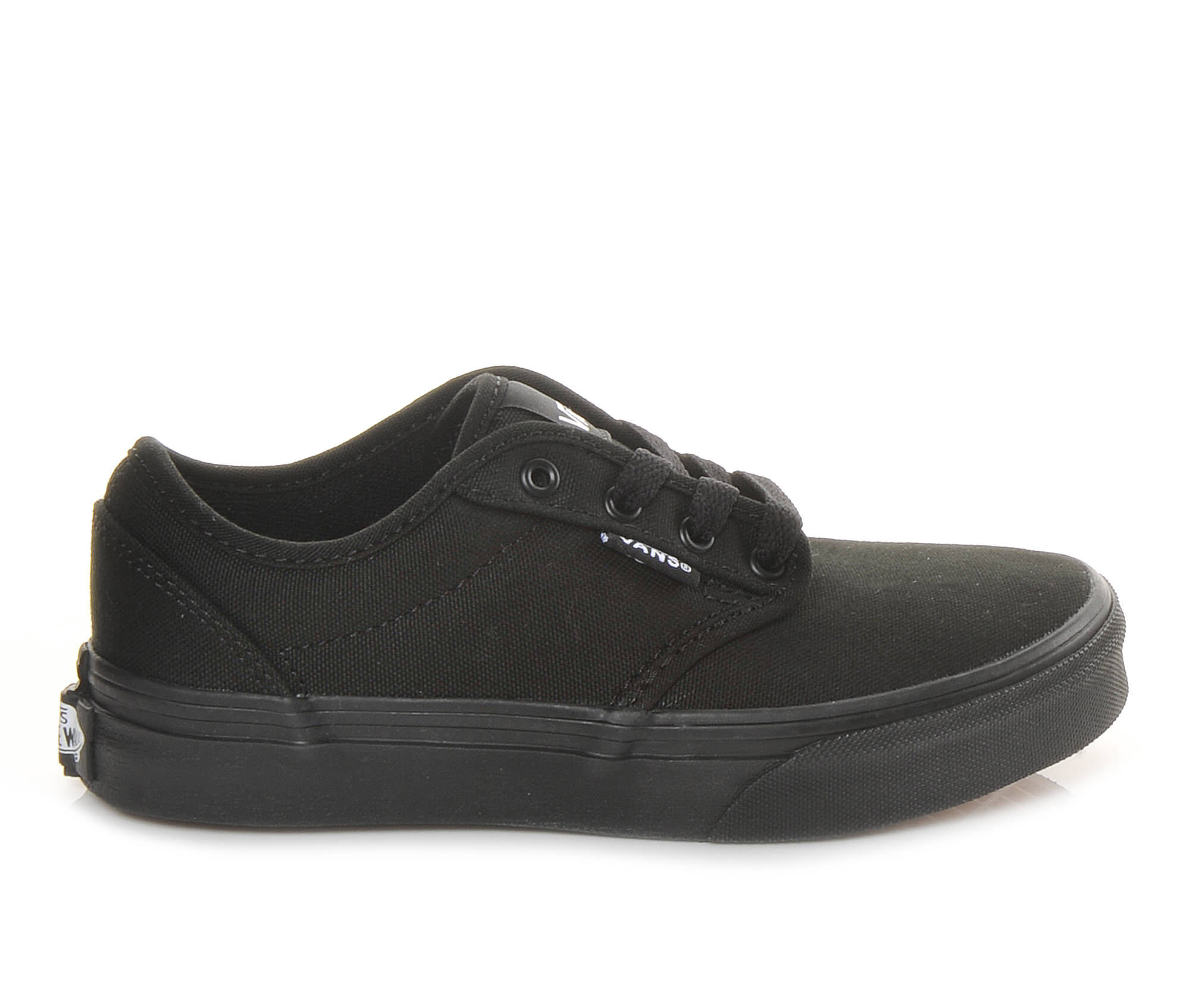 vans black boys shoes