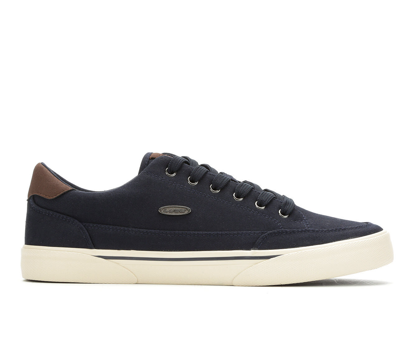 competitive price Men's Lugz Stockwell Casual Sneakers Navy/Chocolate