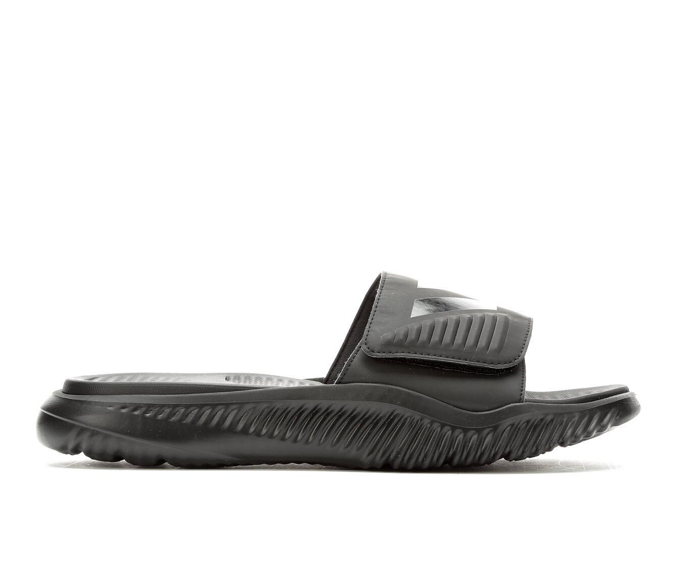 Men's Adidas AlphaBounce Slide Sport Slides CBlack/CBlack