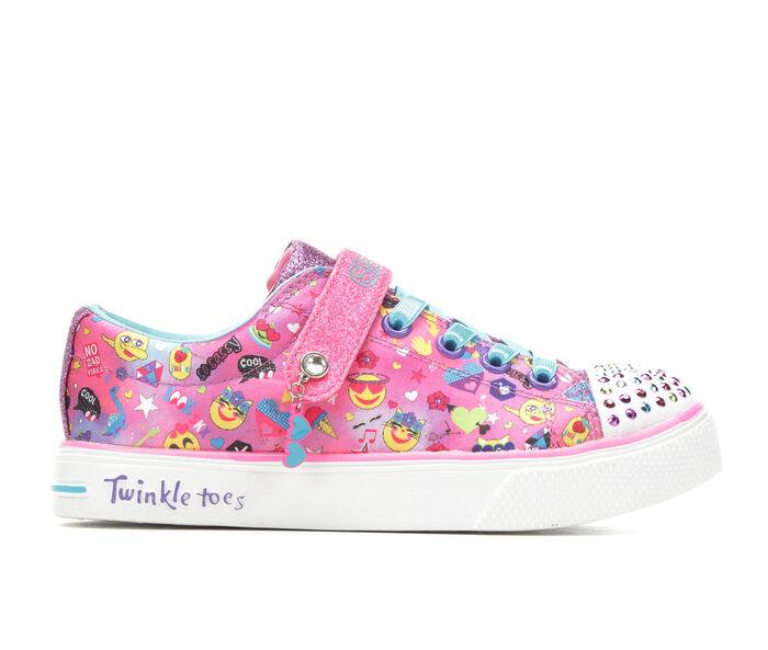 Girls' Skechers Little Kid & Big Kid Twinkle Breeze 2.0 Charac Cutie Light-Up Sneakers
