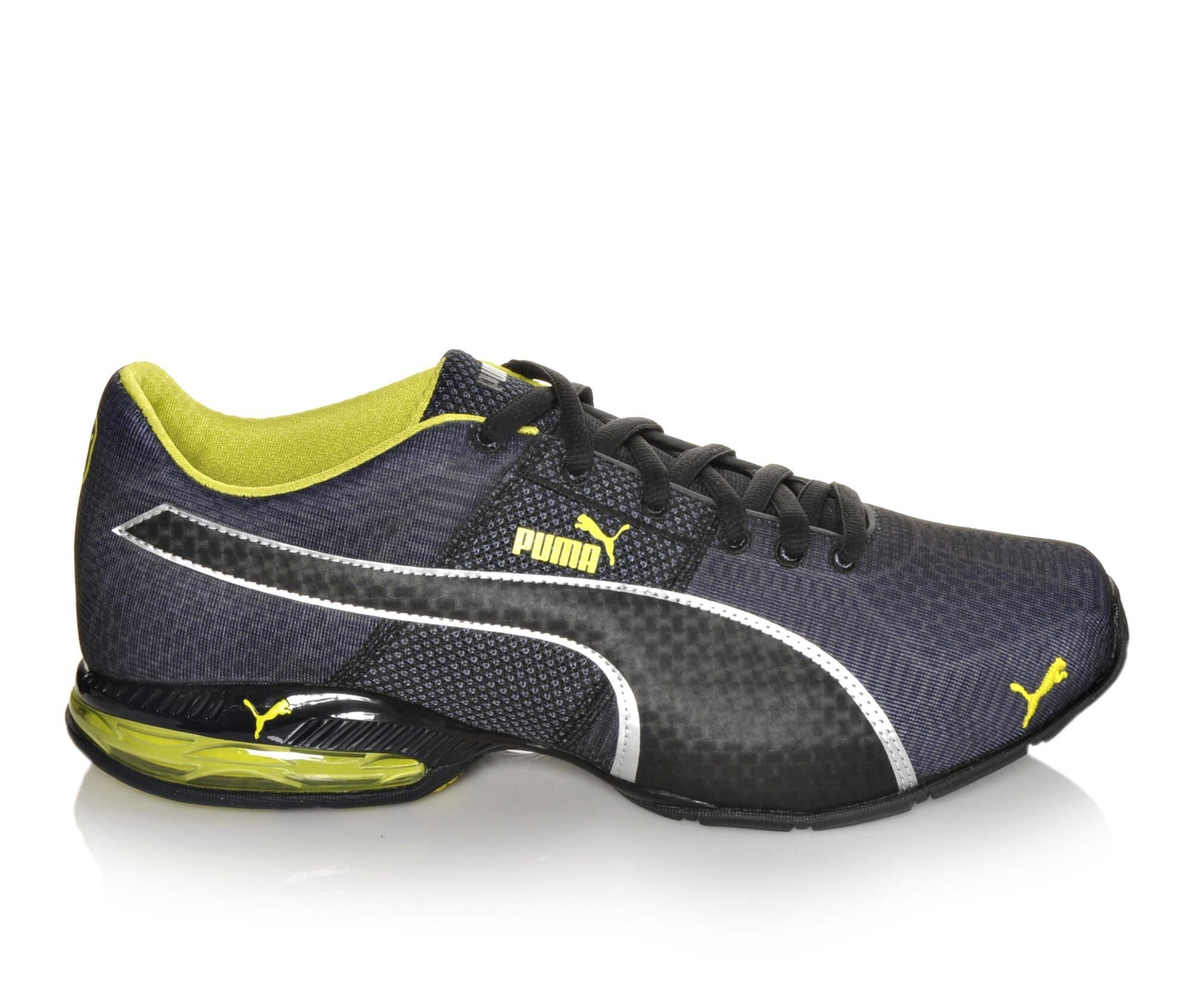 Puma Shoes Puma Cell Surin Engineered 2 Mens Sports Shoes Dark Grey/Volt