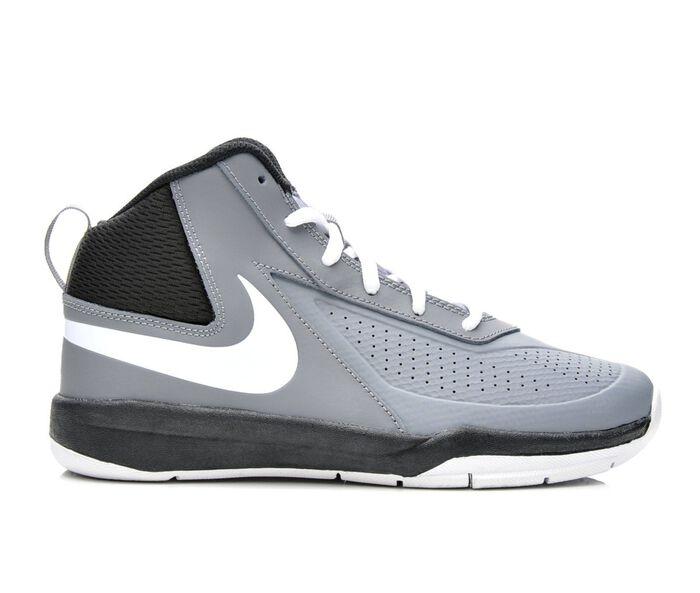 Boys' Nike Team Hustle D7 3.5-7 Basketball Shoes