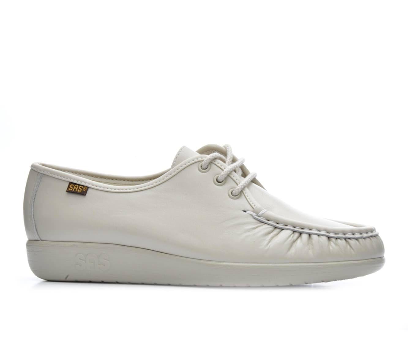 Women's Sas Siesta Comfort Tie Comfort Shoes Bone