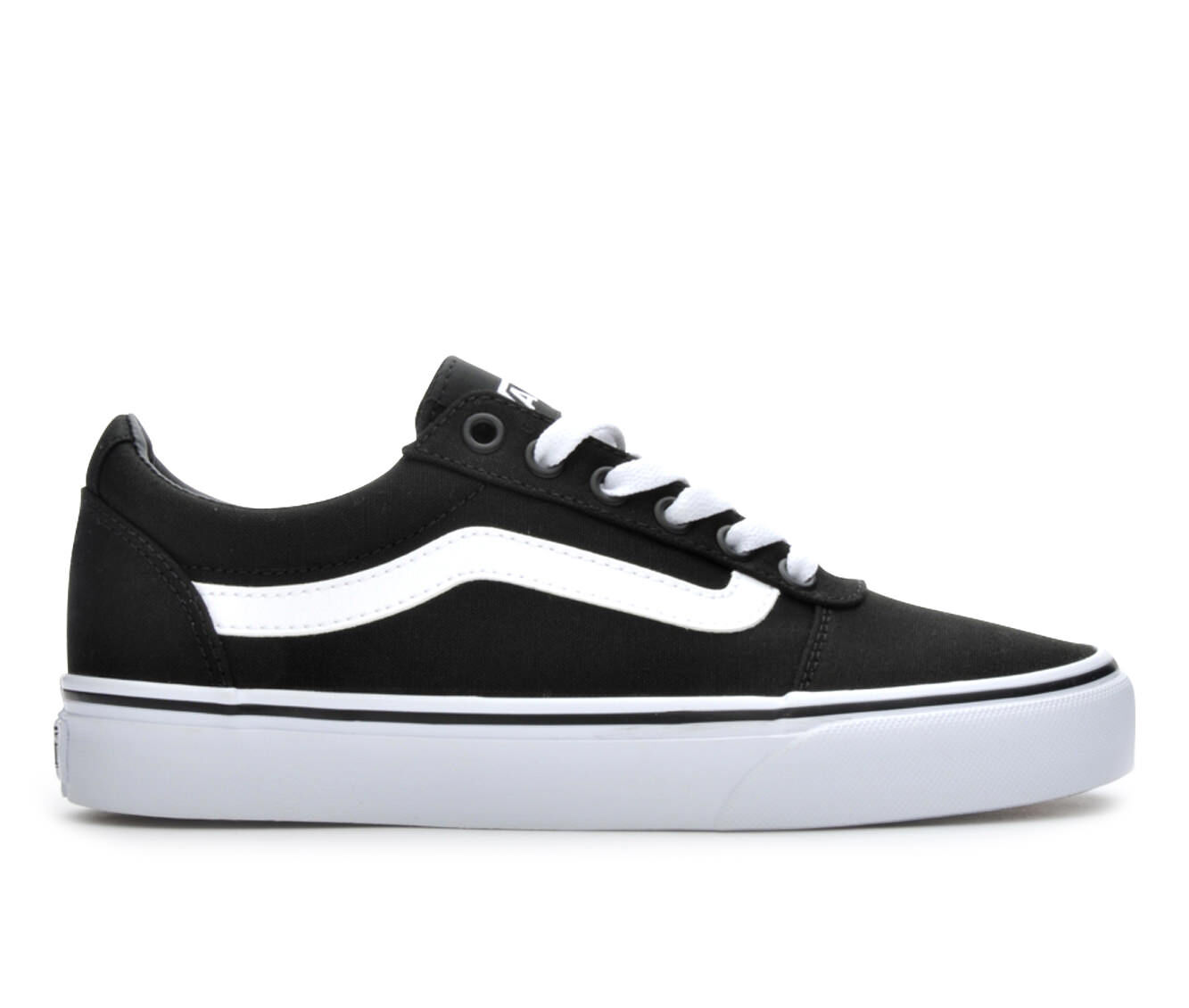 Women's Vans Ward Skate Shoes Black/White