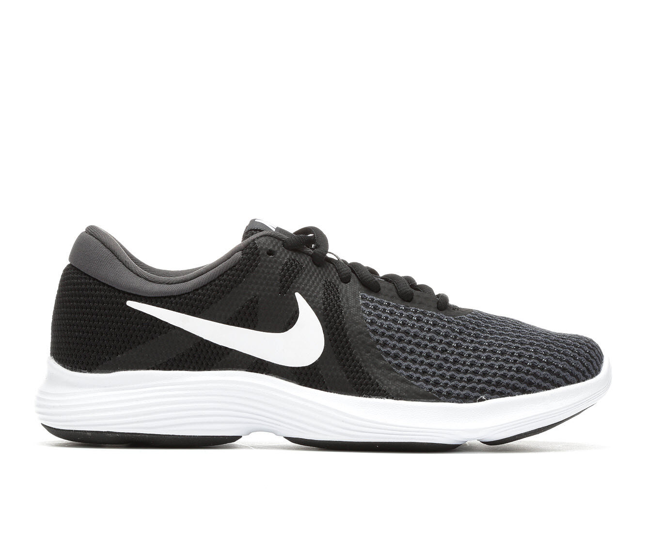 Women's Nike Revolution 4 Running Shoes Black/White