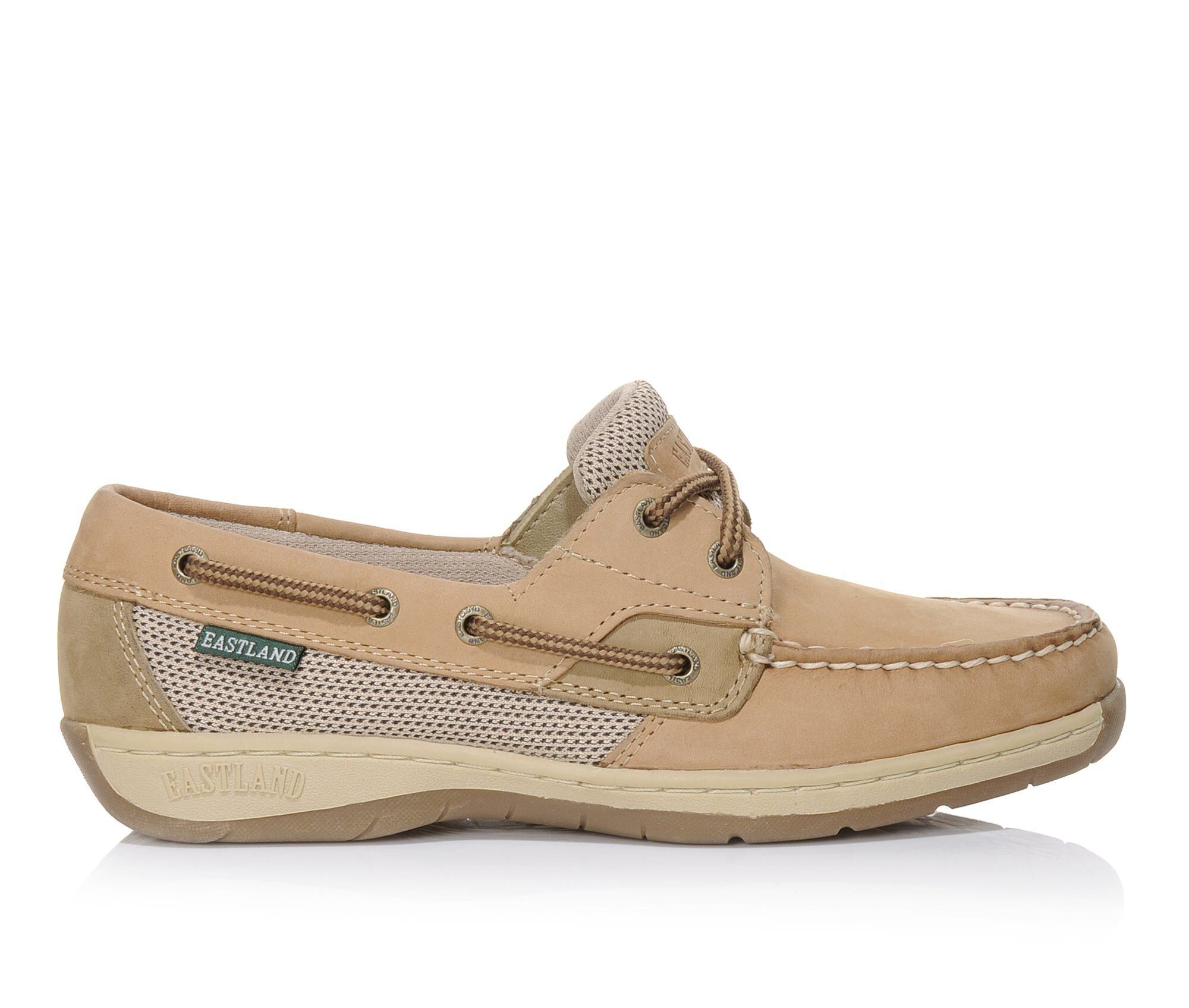 Women's Eastland Solstice Boat Shoes Tan
