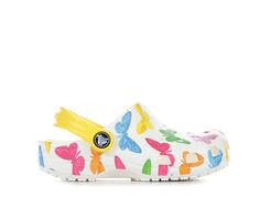 Kids' Crocs Little Kid Classic Butterfly Clogs
