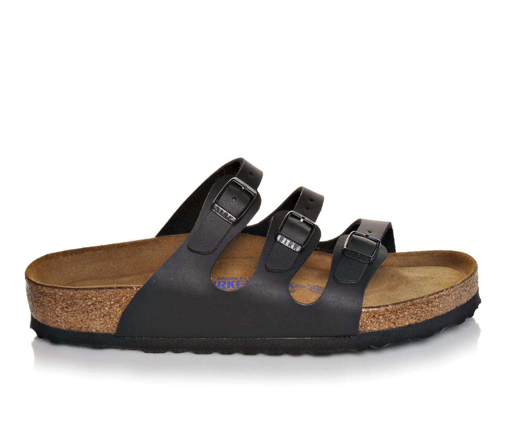 b0ff4b244 Women's Birkenstock Florida Strappy Footbed Sandals   Shoe Carnival