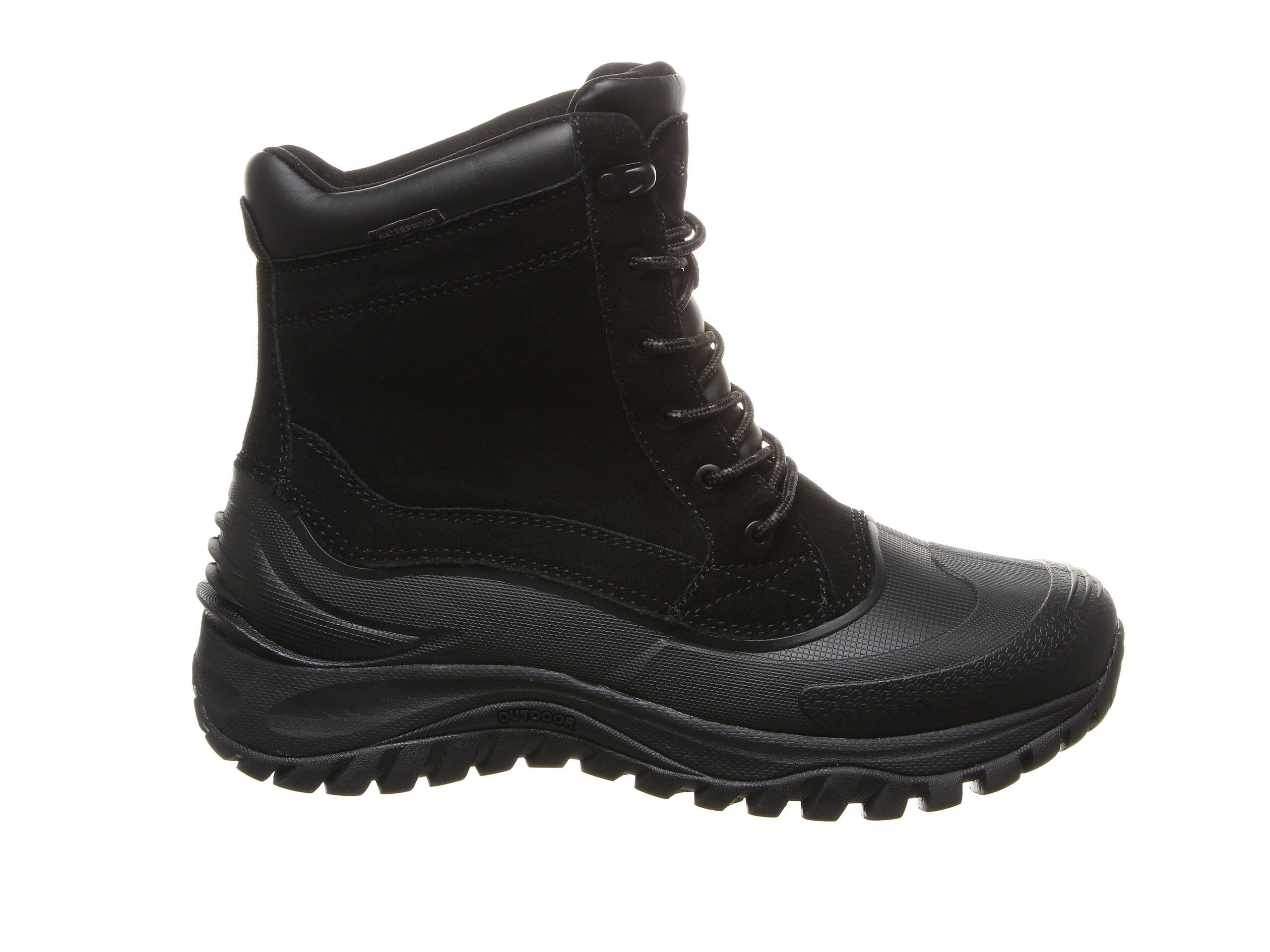Men's Bearpaw Teton Winter Boots Black