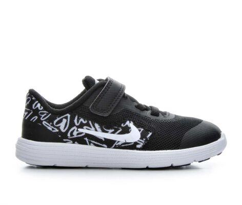 Girls' Nike Infant Revolution 3 Print Girls Athletic Shoes