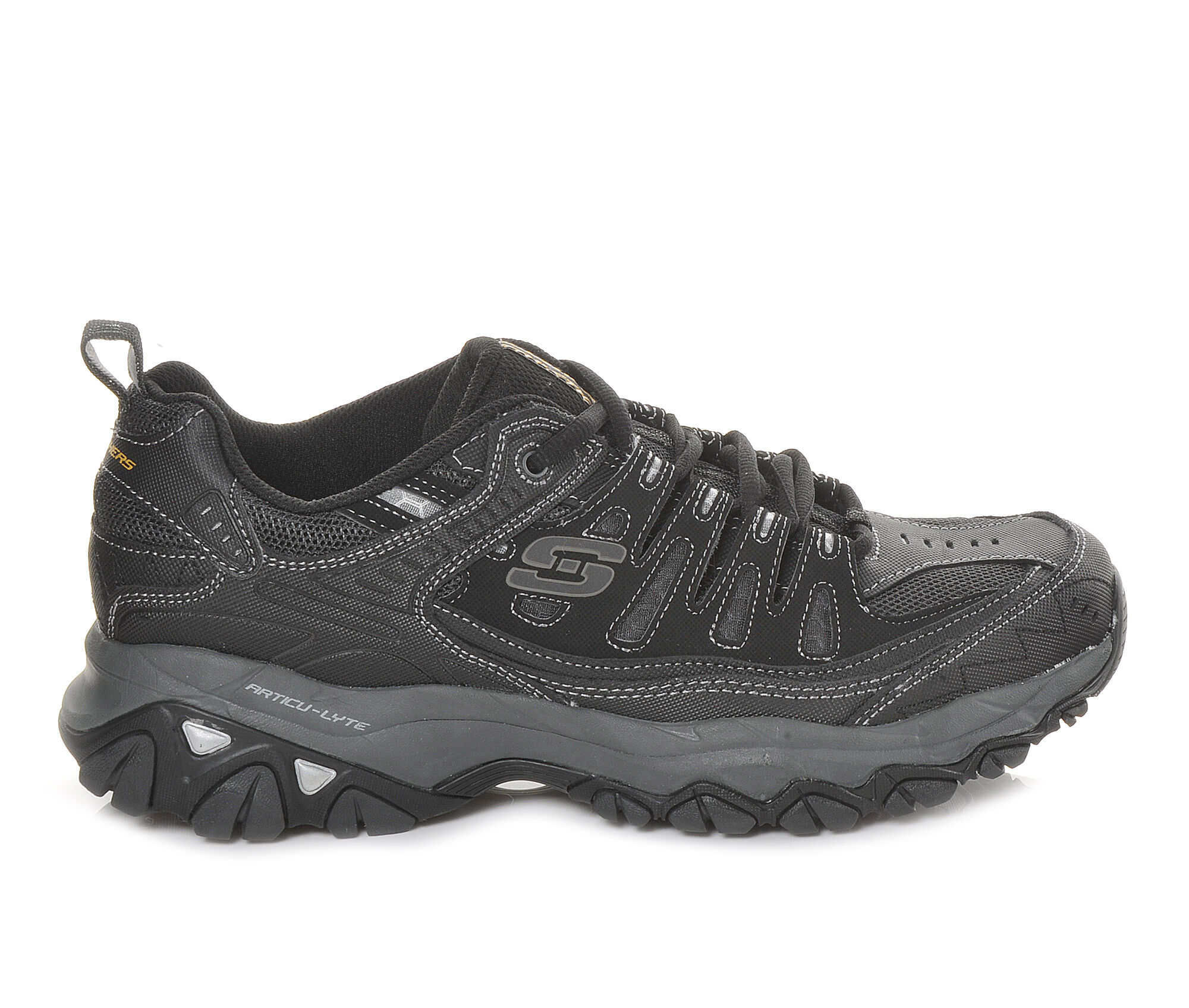 buy cheap new arrivals Men's Skechers Memory Fit 50125 Training Shoes Black/Grey