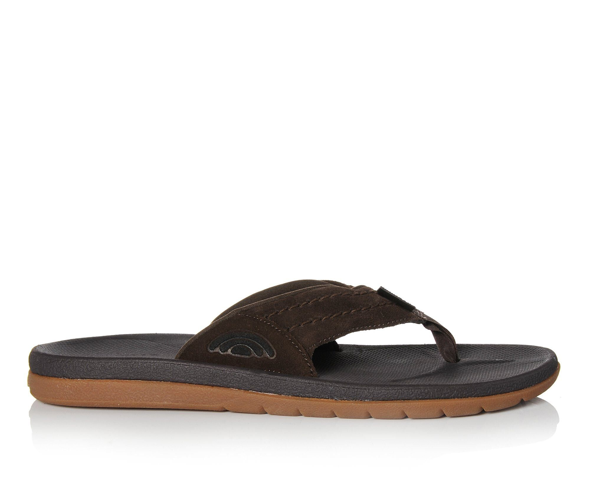 easy returns Men's Rainbow Sandals Eastcape Flip-Flops Dark Brown