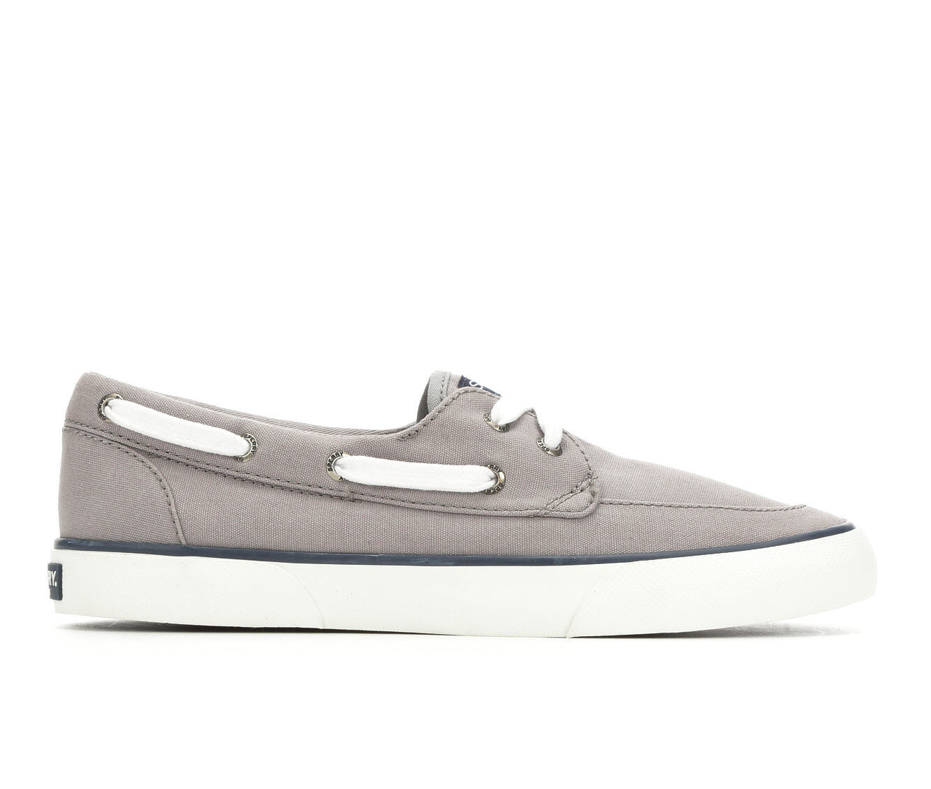 Women's Sperry Pier Boat Shoes Grey