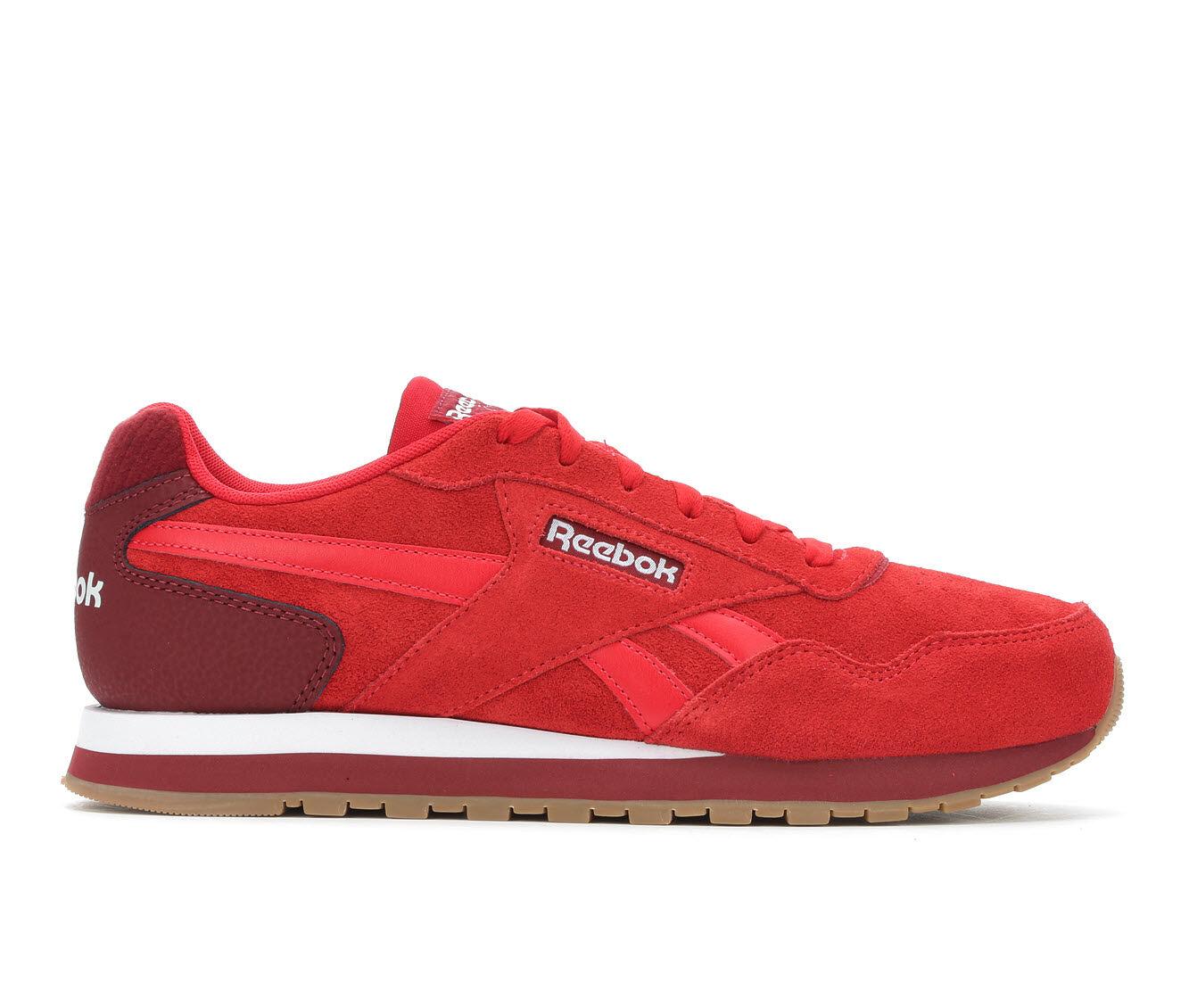 Men's Reebok Harman Retro Sneakers Red/Burg/White