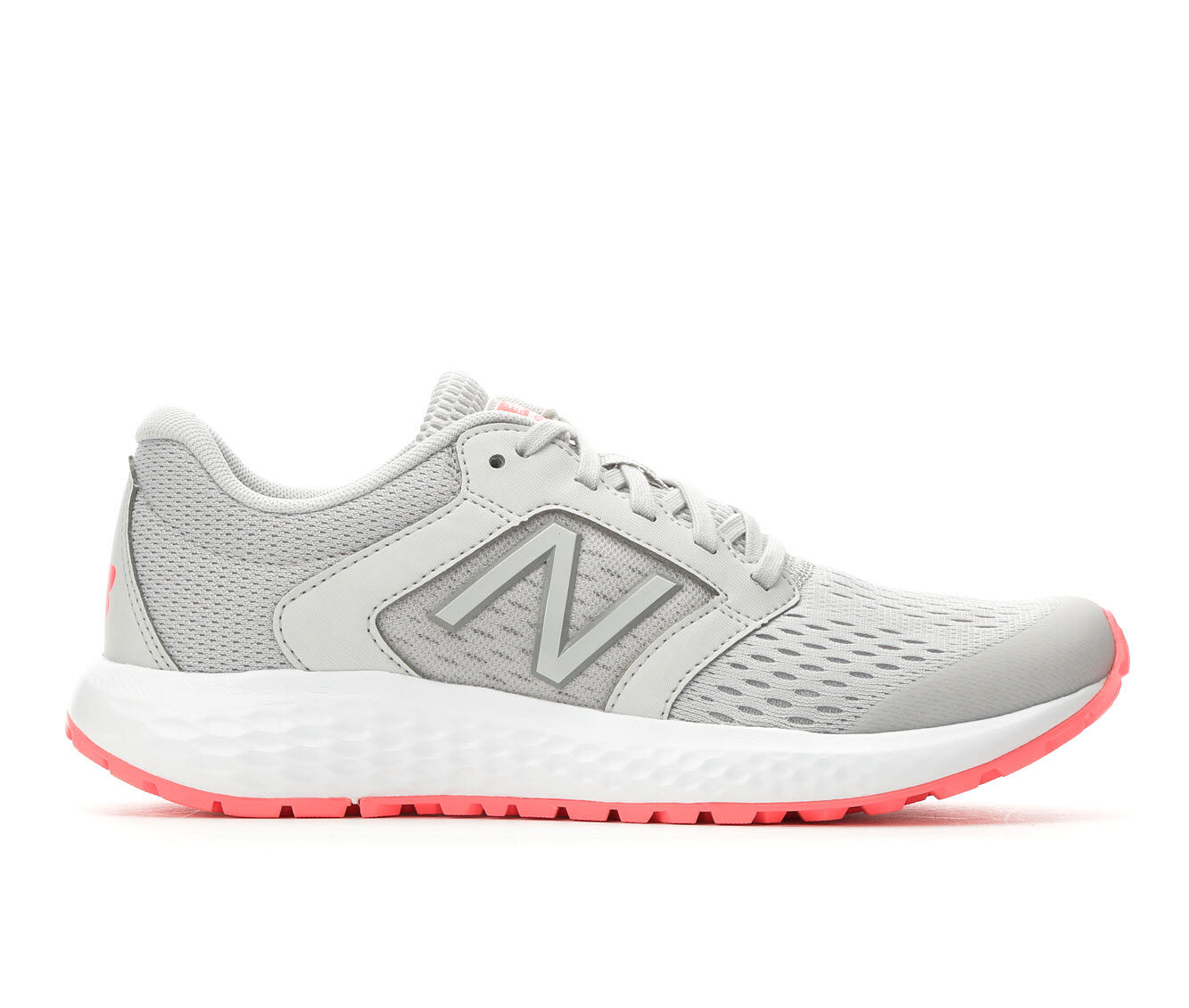 Women's New Balance W520v5 Running Shoes Grey/Guava