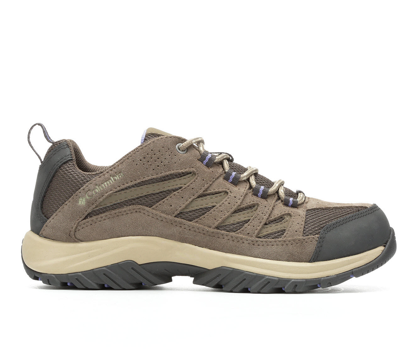 Women's Columbia Crestwood Low Hiking Shoes Mudd/Fairytale