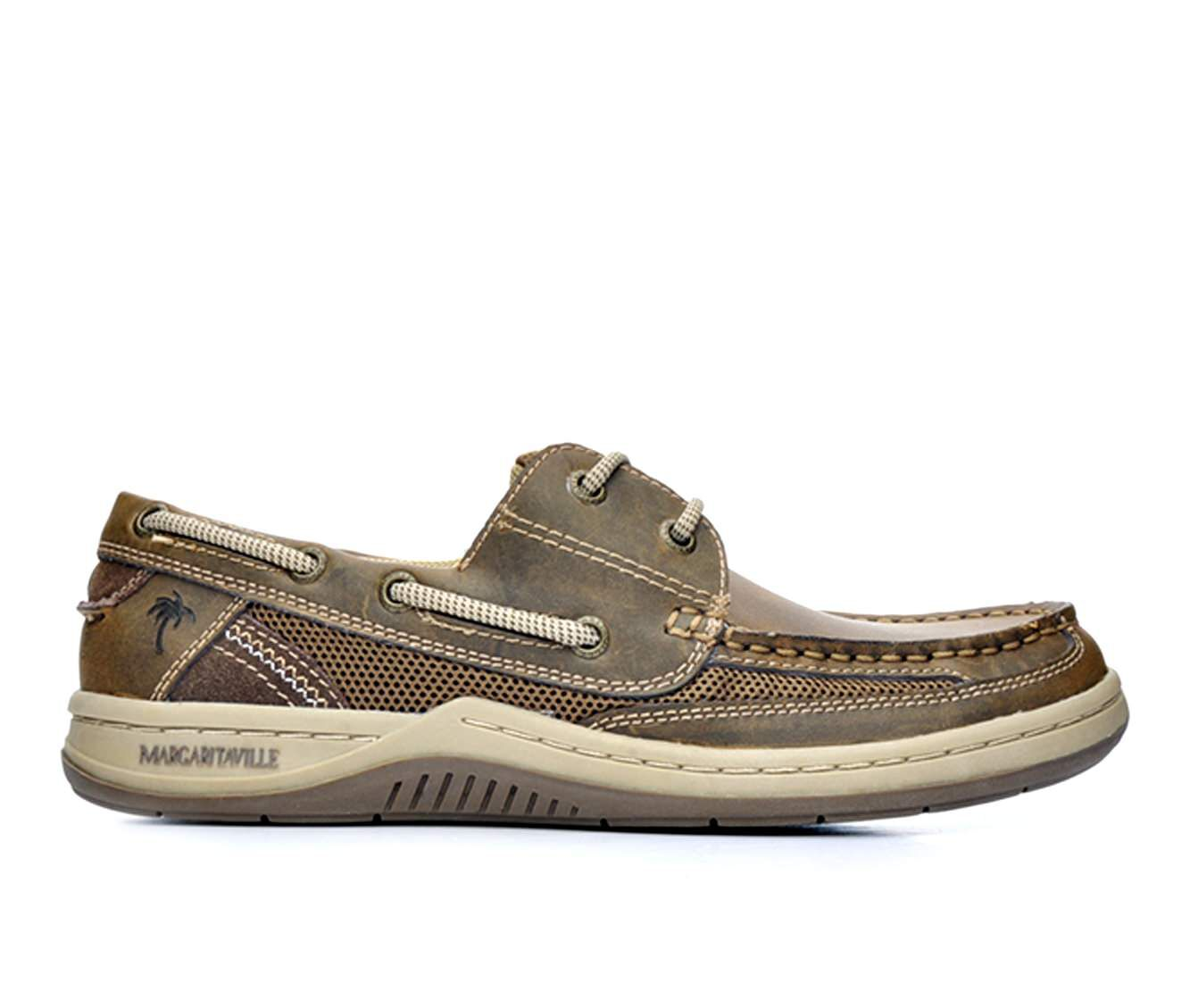 Purchase Price Men's Margaritaville Anchor 2 Eye Boat Shoes Brown