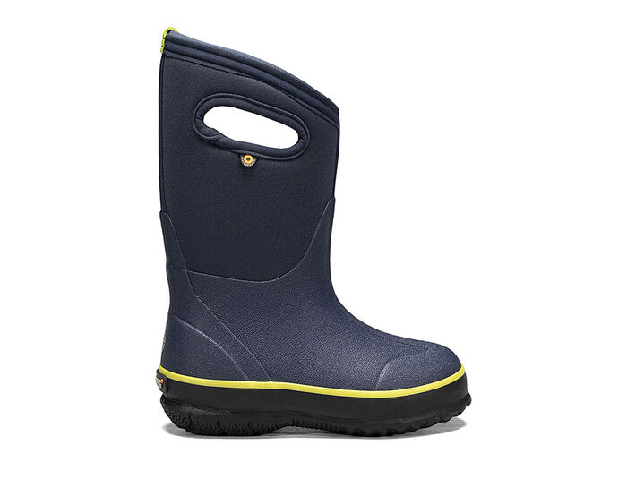 Boys' Bogs Footwear Toddler & Little Kid Classic Texture Solid Rain Boots