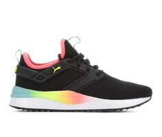 Girls' Puma Big Kid Pacer Next Excel Rainbow Jr Running Shoes