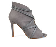 Women's Journee Collection Samara Stiletto Peep Toe Booties