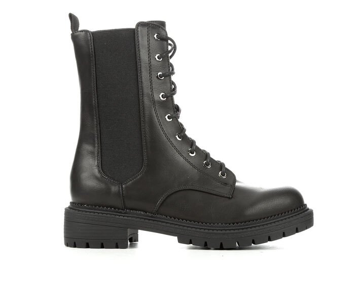 Women's Rock And Candy Haria Chelsea Combat Boots
