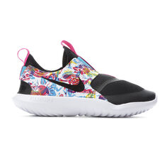 Girls' Nike Little Kid Flex Runner Print Running Shoes