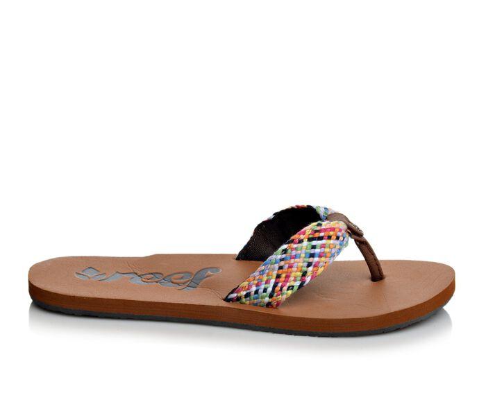 Women's Reef Mallory Scrunch Flip-Flops