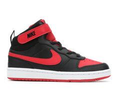 Boys' Nike Little Kid Court Borough Mid 2 Sneakers