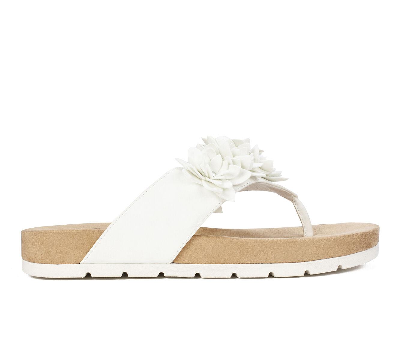 Outdoor Sports Women's Cliffs Terris Sandals White