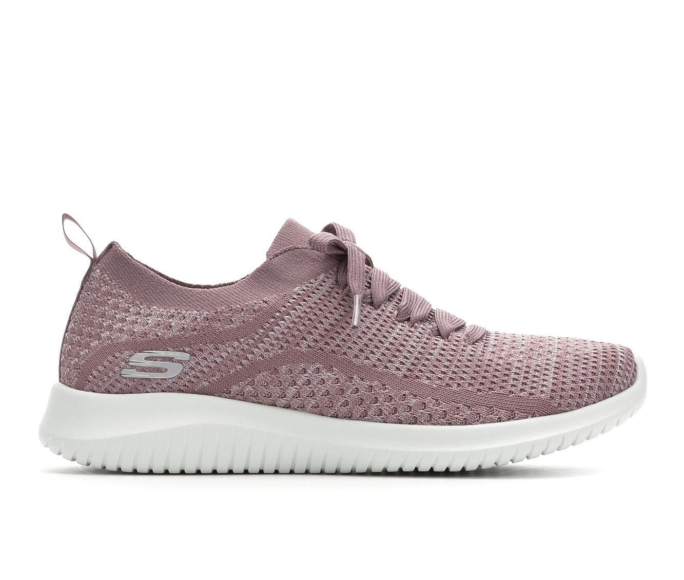 Women's Skechers Statements 12841 Slip-On Sneakers Lavender/Wht