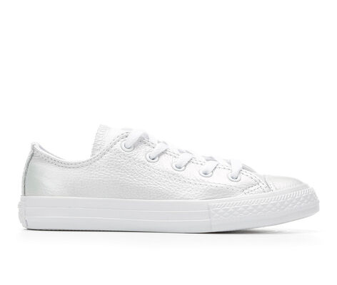 Girls' Converse CTAS Iridescent Leather Ox Girls 10.5-3 Sneakers