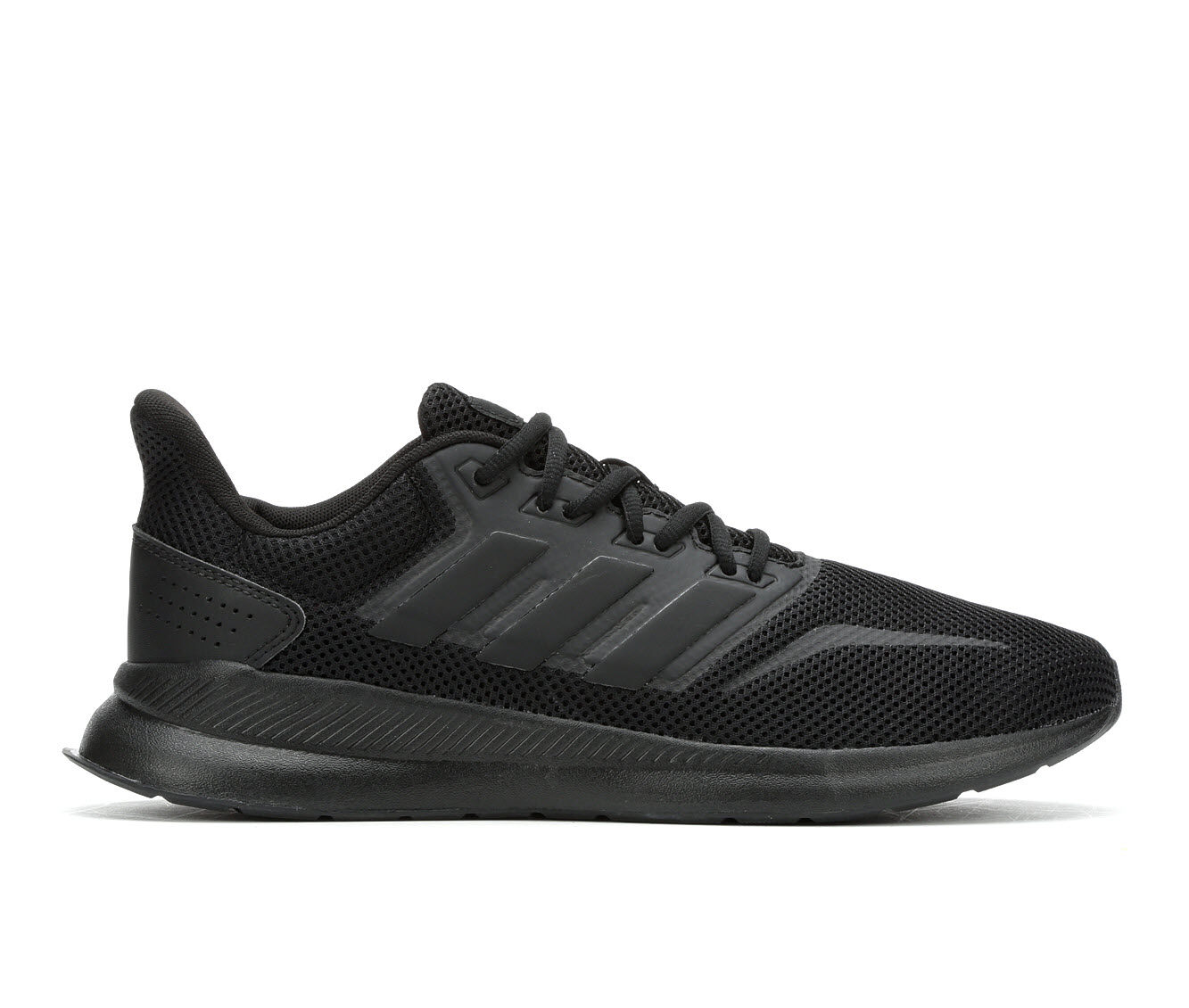 Reliable Men's Adidas Falcon Running Shoes Blk/Blk/Blk