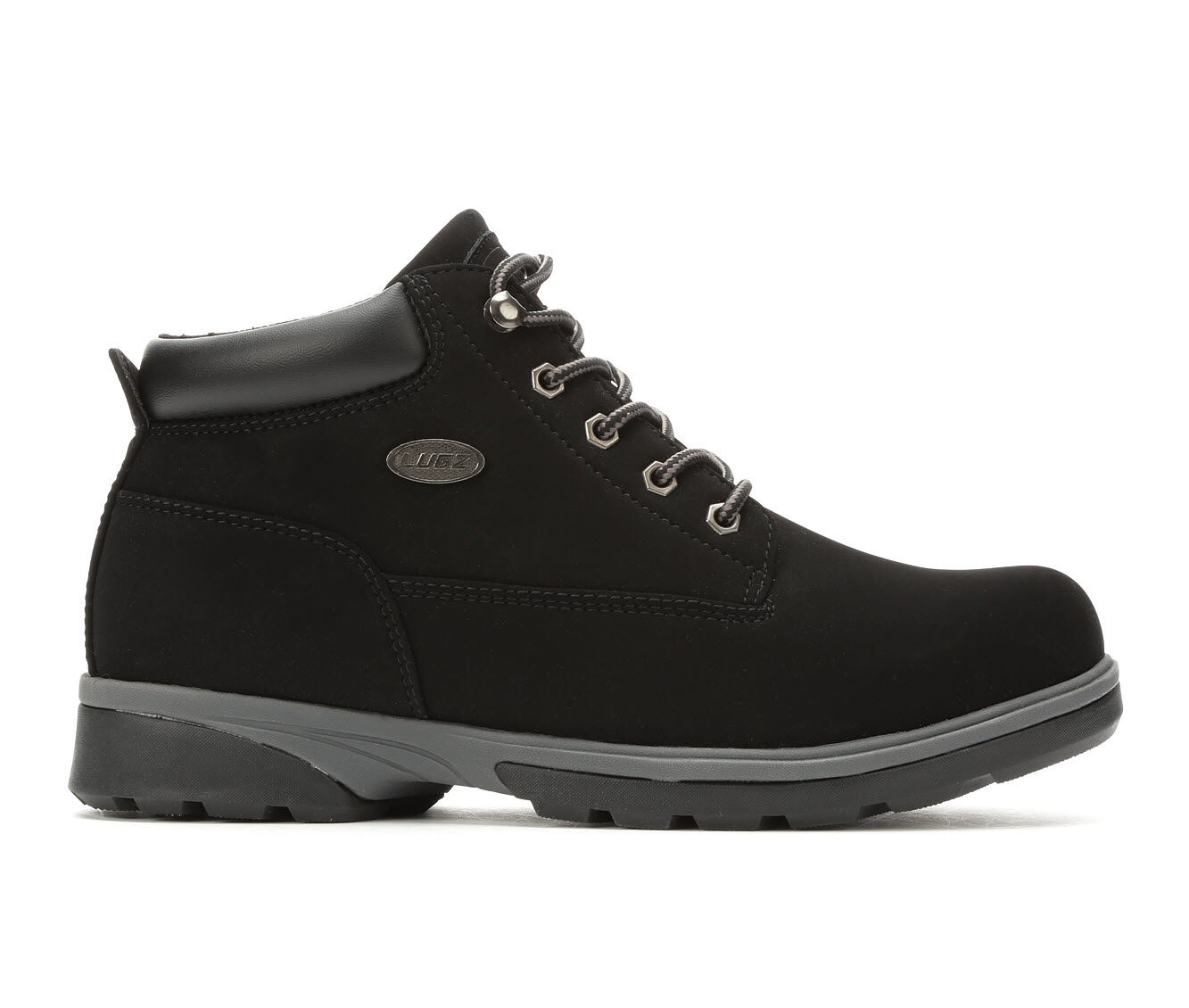 Men's Lugz Drifter Zeolite Mid Boots Black/Charcoal