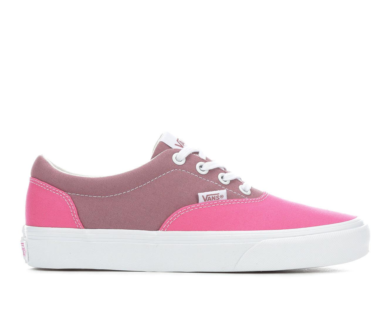Women's Vans Doheny Two Tone Skate Shoes Azalea/Rose