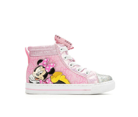 Girls' Disney Minnie Mouse 6-12 Light-Up Sneakers
