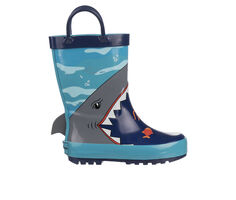 Boys' Rugged Bear Toddler & Little Kid RB88026A Shark Rain Boots