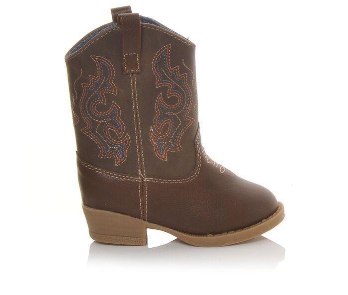 Boys' Natural Steps Bronco 2-12 Cowboy Boots