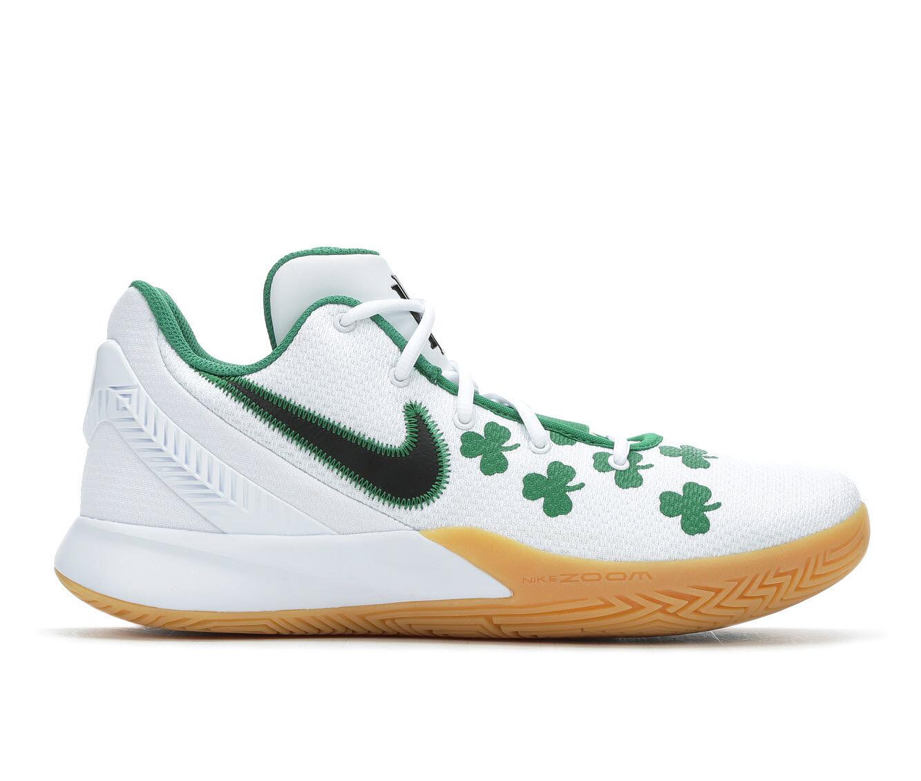 Men's Nike Kyrie Flytrap II Basketball Shoes Wht/Grn/Gld 100