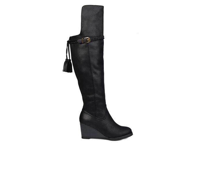 Women's Journee Collection Jezebel Wide Calf Over-The-Knee Boots