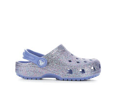 Girls' Crocs Toddler Classic Glitter Clog