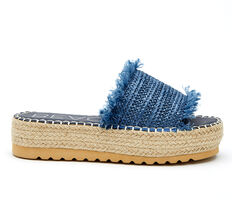 Women's Coconuts Seashell Flatform Sandals