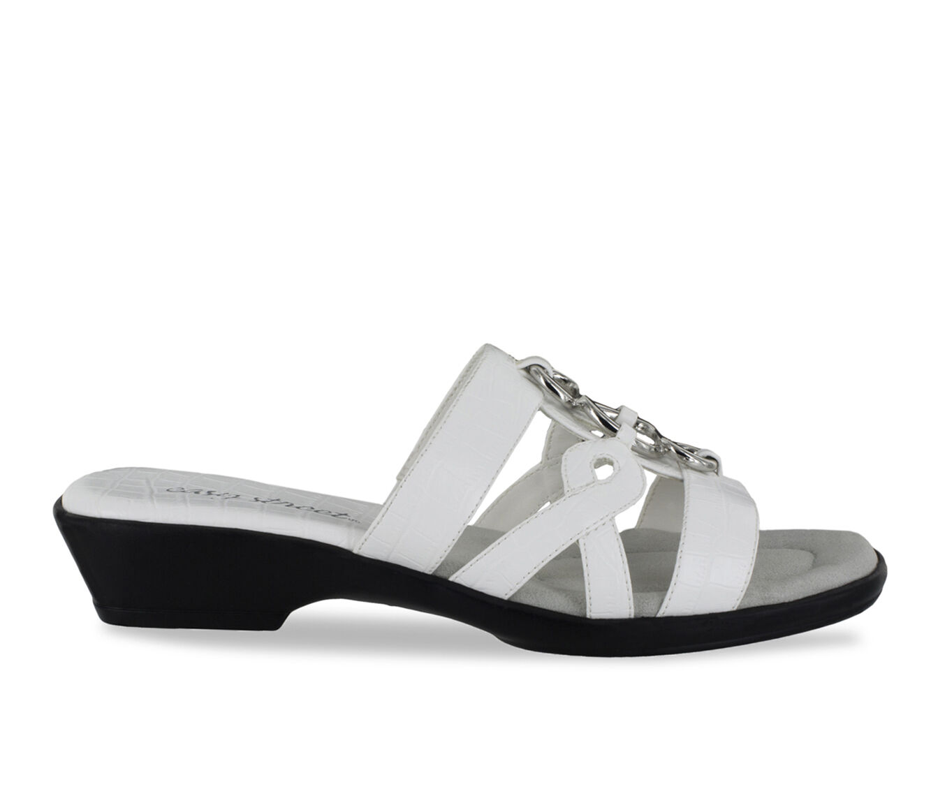 Women's Easy Street Torrid Sandals White Croco