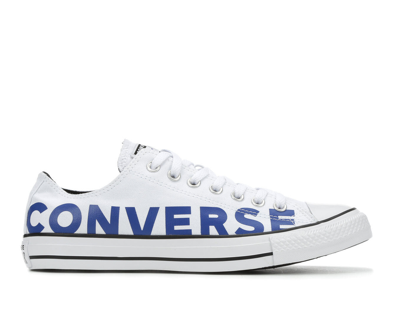 Adults' Converse Chuck Taylor Wordmark Ox 2.0 Sneakers Wht/Blu/Wht