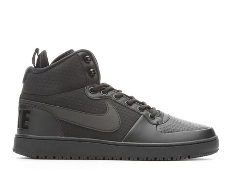 Men's Nike Court Borough Mid Winter High Top Basketball Shoes