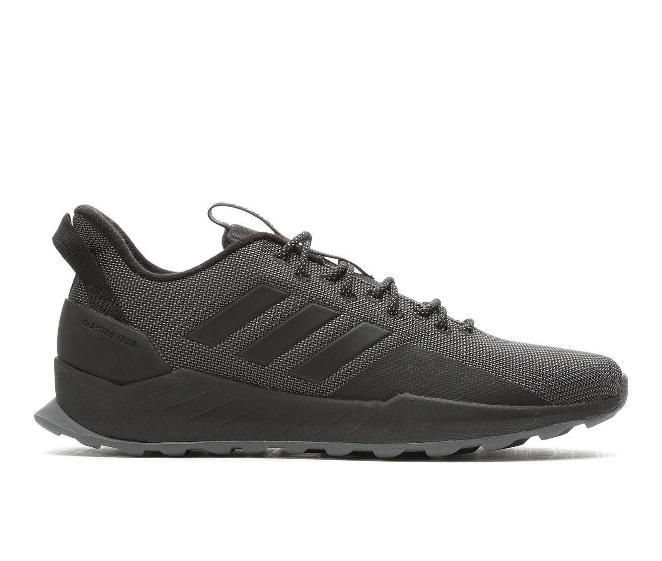 Big Discount Men's Adidas Questar Trail Running Shoes Black/Grey
