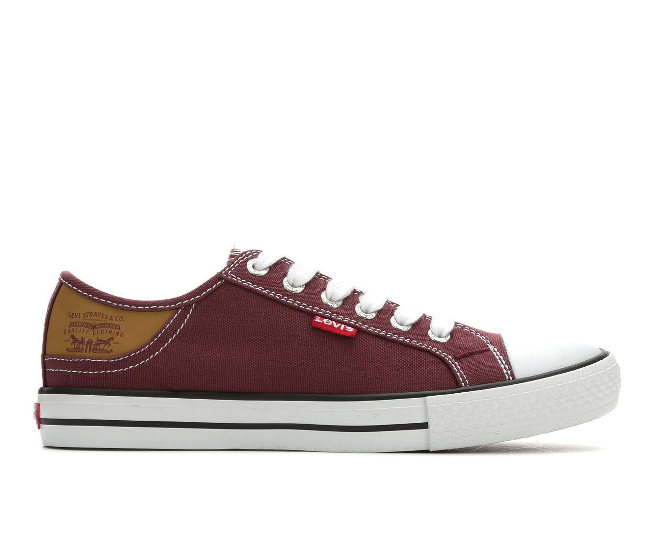 latest series Women's Levis Stan Buck Sneakers Burgundy/Brown