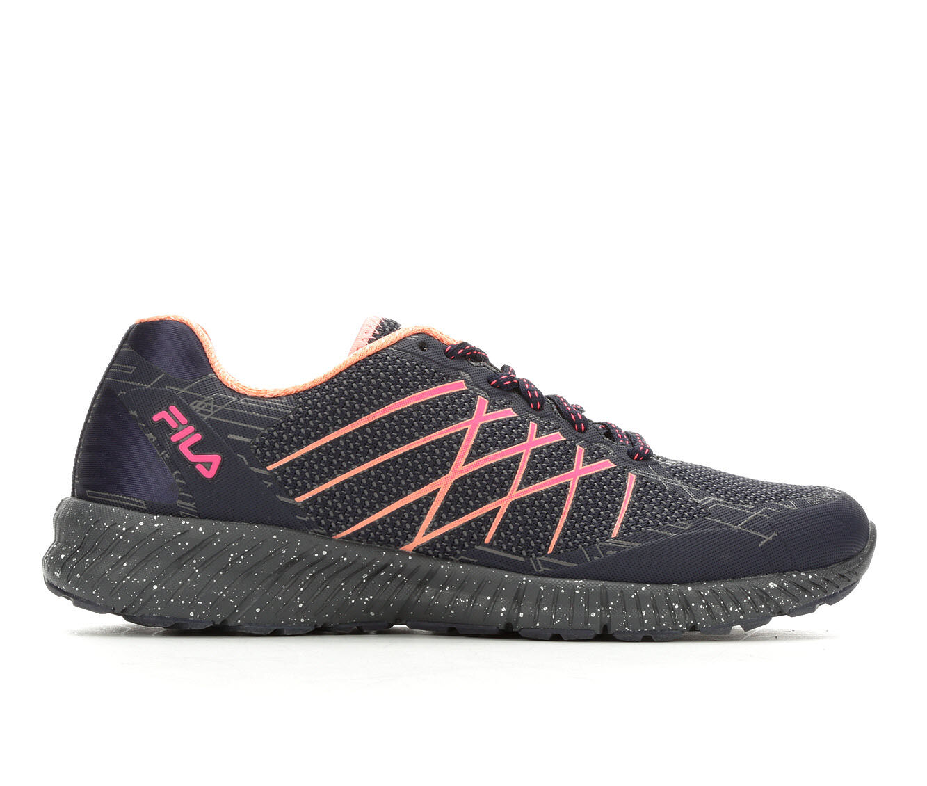 Women's Fila Viaro TR Trail Running Shoes Navy/Pink/Coral