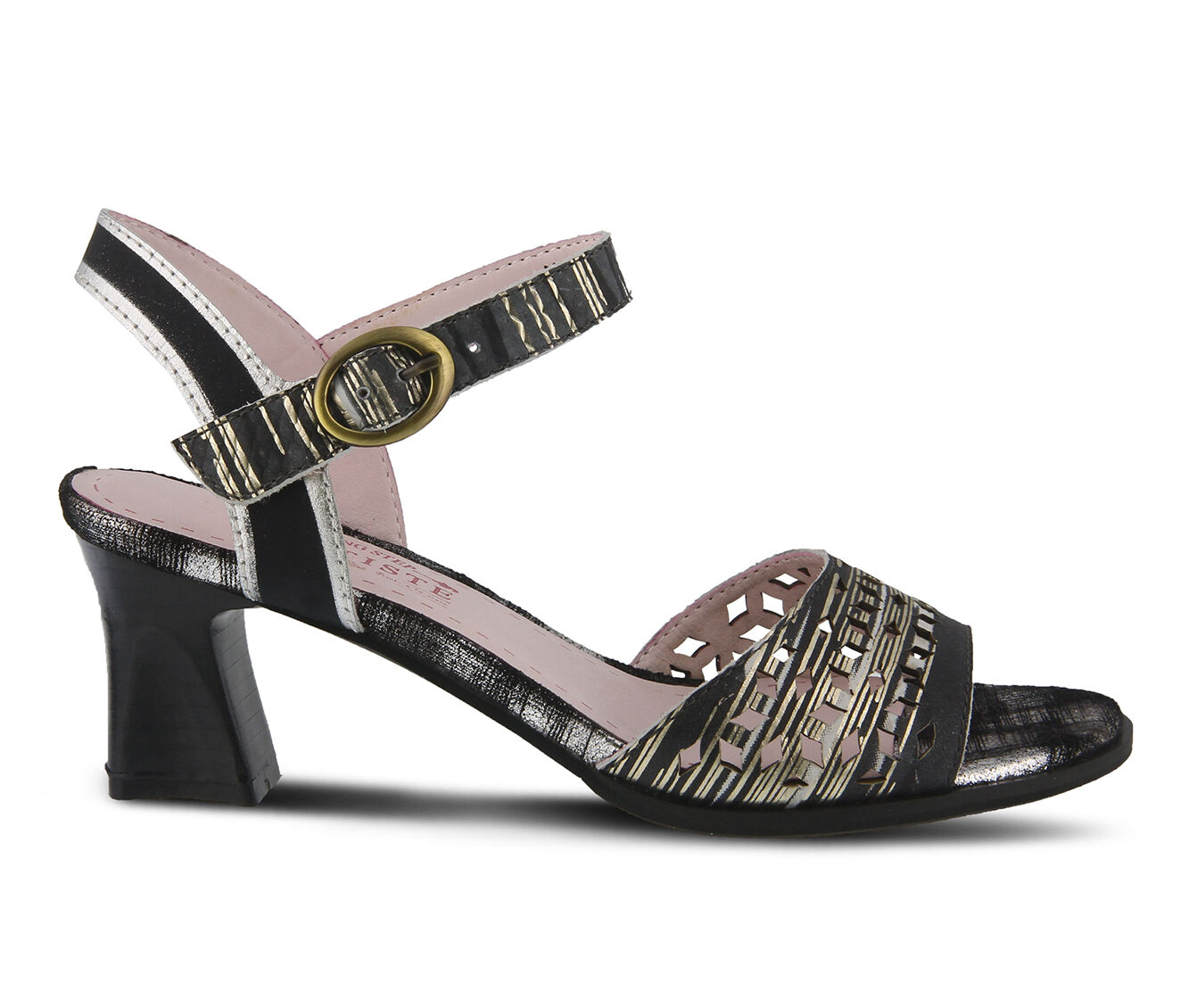 Women's L'ARTISTE Madelyn Dress Sandals Black Multi
