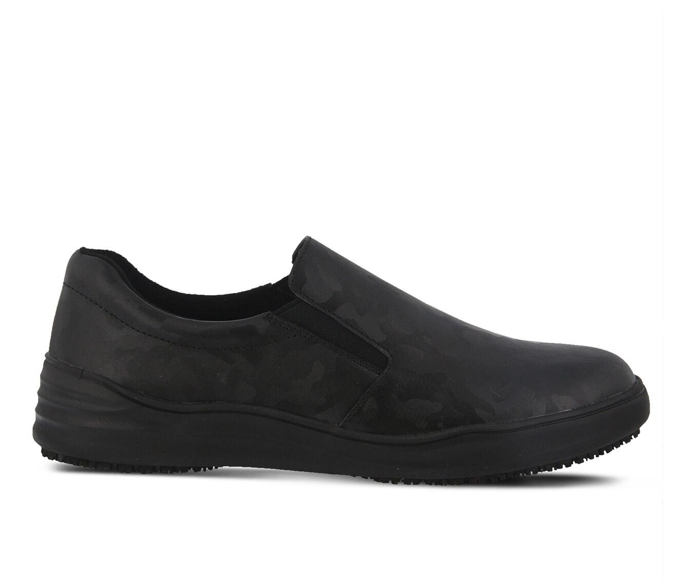 Women's SPRING STEP Waevo Camo Slip Resistant Shoes Black