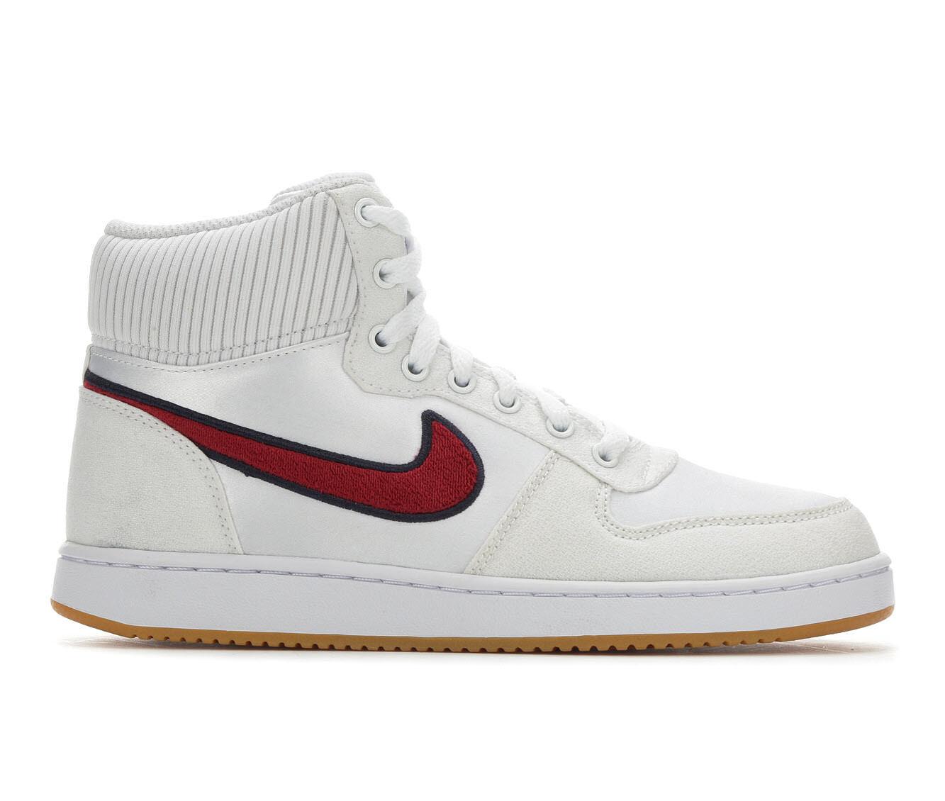 Women's Nike Ebernon Mid Premium Fashion Basketball Shoes